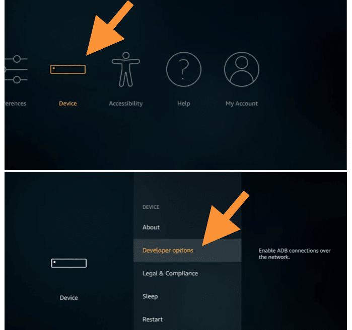 activar permisos firestick app pura tv mod