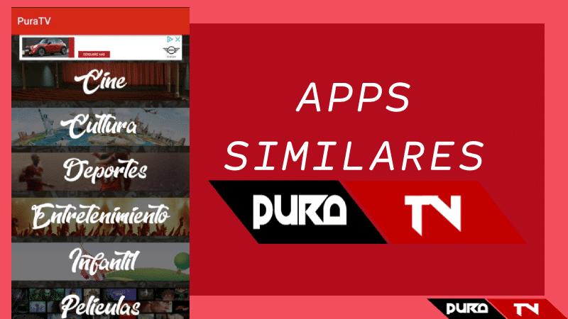 Aplicaciones como Pura TV 2021: Apps Similares | Iguales