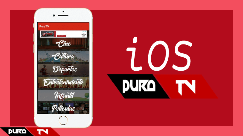 descargar pura tv iphone apk
