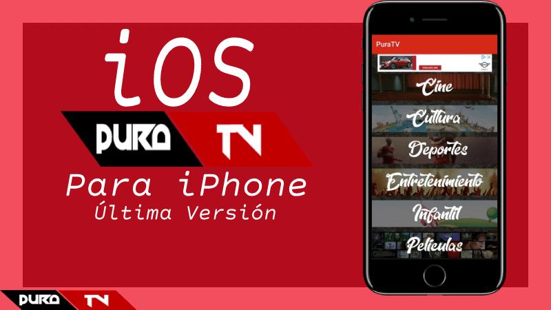 Pura TV para iPhone & iPad: APK para iOS 2021 Gratis